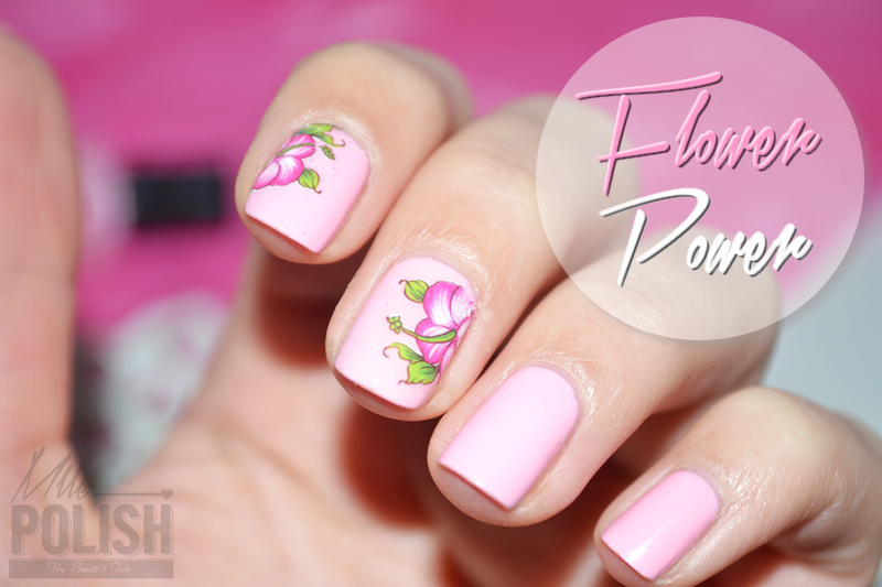 Power Flower, on dégaine les Water Decals