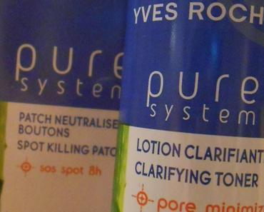 Mon combo anti-imperfections par Yves Rocher.