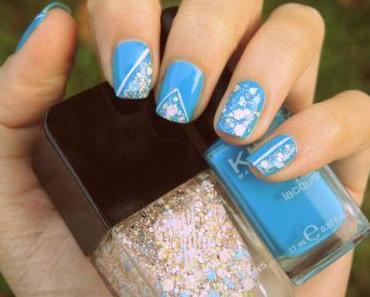 Un peu de bleu et de confettis !
