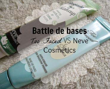 Too Faced ou Neve Cosmetics ?