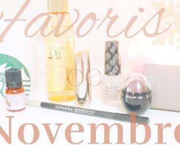 Favoris de Novembre ❄️