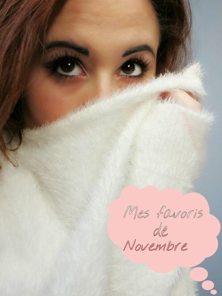 Favoris du mois de Novembre
