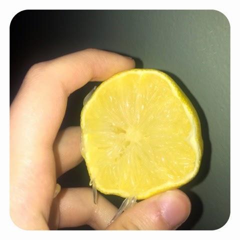 peeling citron