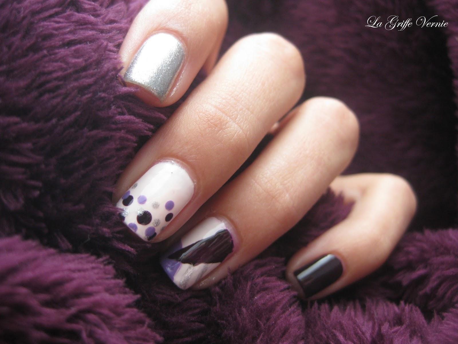 Que le purple règne pour l'anniversaire de Vanille et les Vernis !