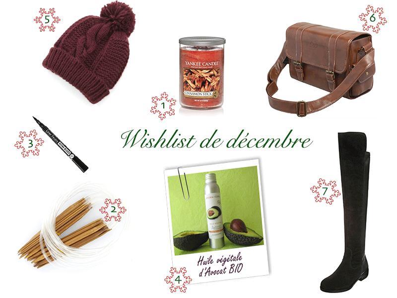 ❄ Wishlist de Décembre ❄