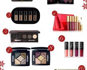 Idées de cadeaux de Noël maquillage 2014
