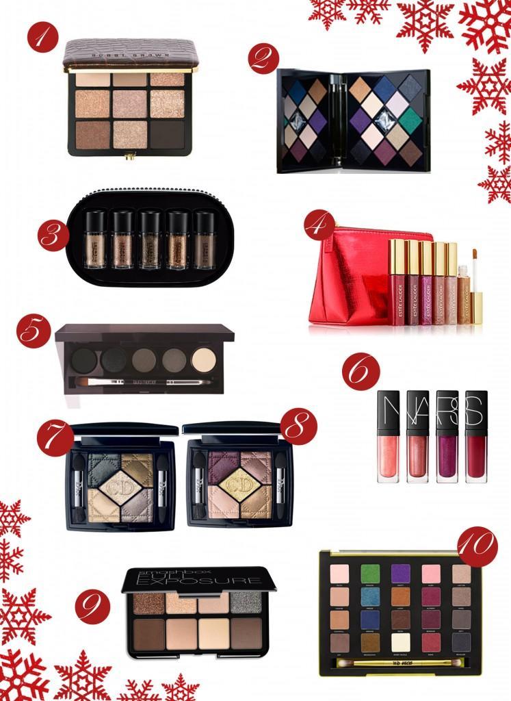 Id es de cadeaux de no l maquillage 2014 for Idees cadeaux de noel