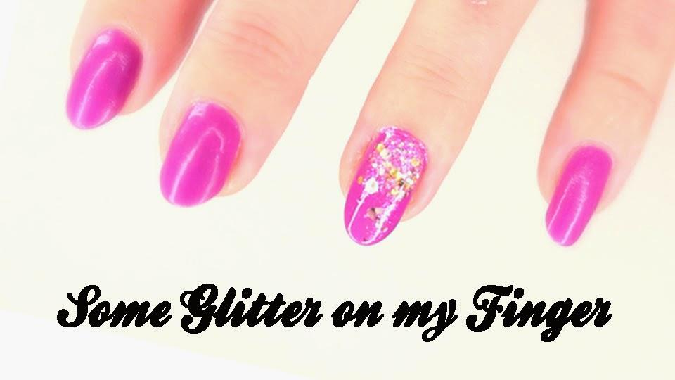 Tuto Nail Art : Comment je pose des paillettes