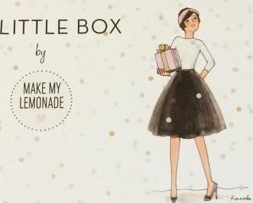 Revue : My Little Box by Make My Lemonade (décembre 2014)