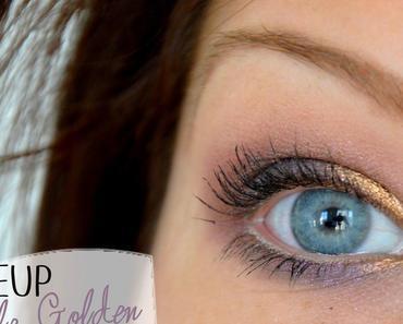 Makeup Purple Golden pour les fêtes