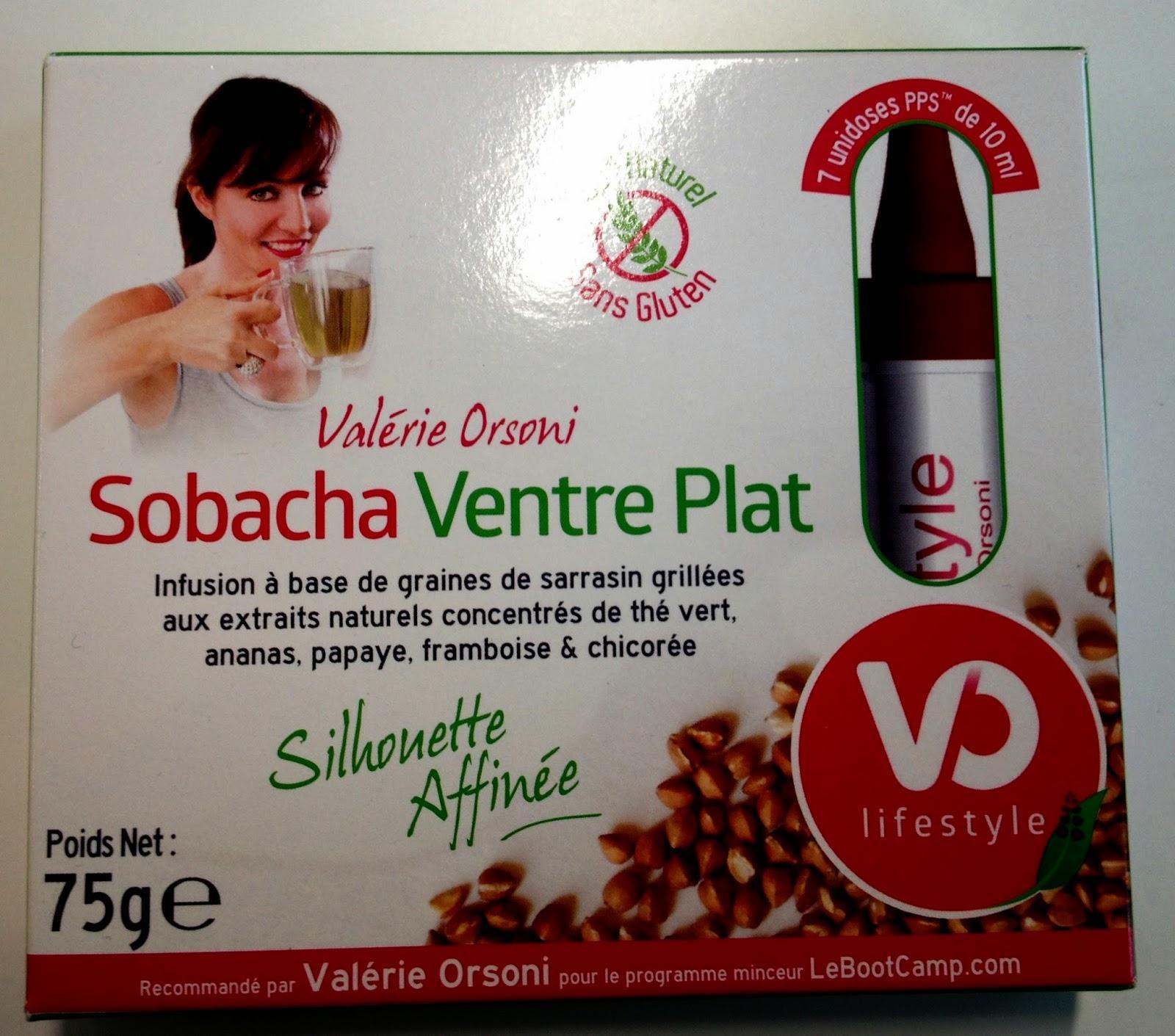 J'ai testé Sobacha Ventre plat de Valérie Orsoni