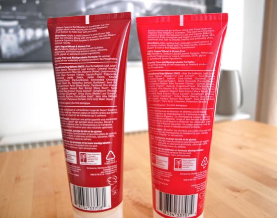 Desert Essence Shampoing et Après shampoing à la framboise