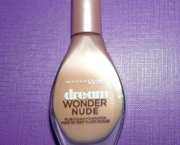 ✰ Nouveau : Dream Wonder Nude de Maybelline ✰