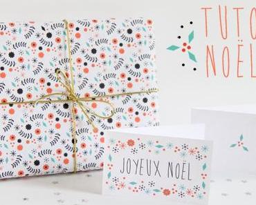 10 idées de papiers cadeaux créatifs et graphiques- à télécharger, gratuit