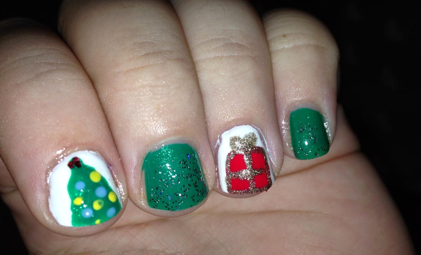 Nail Art de Noël n°2: Photos et vidéos