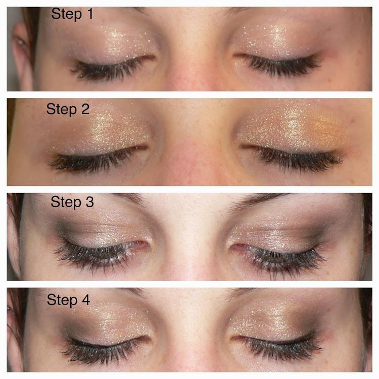 maquillage yeux marrons pour noel