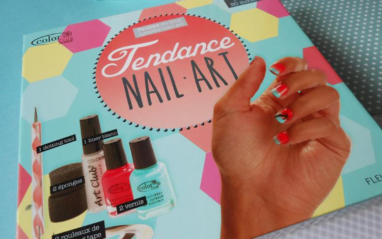 [Nail Art] Premier essai avec le coffret Tendance NAIL ART