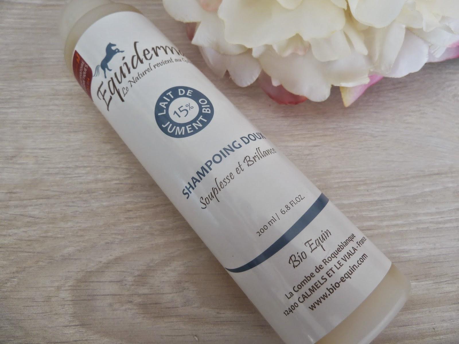 Shampooing doux au lait de jument - Equiderma