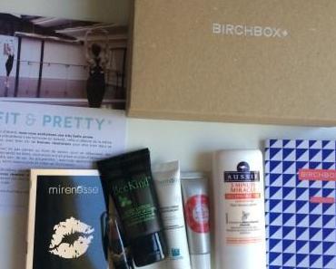 Revue : Birchbox « Fit & Pretty », première box de 2015