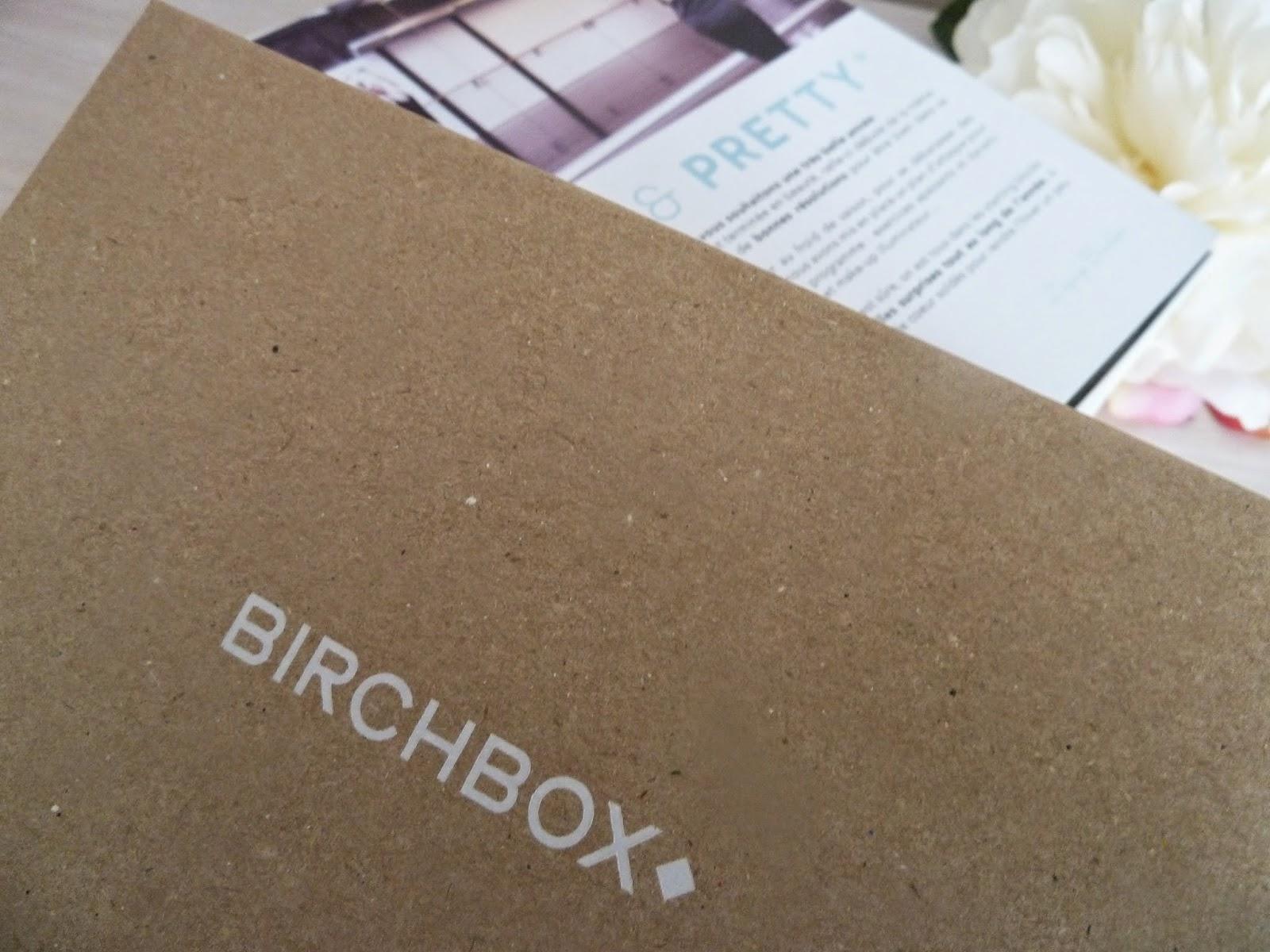 Les bonnes résolutions avec la Birchbox de janvier 2015 - Fit & Pretty