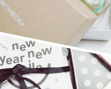 Birchbox et Glossybox de Janvier