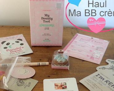 Haul Ma BB Crème : Cosmétiques Coréens et accessoires