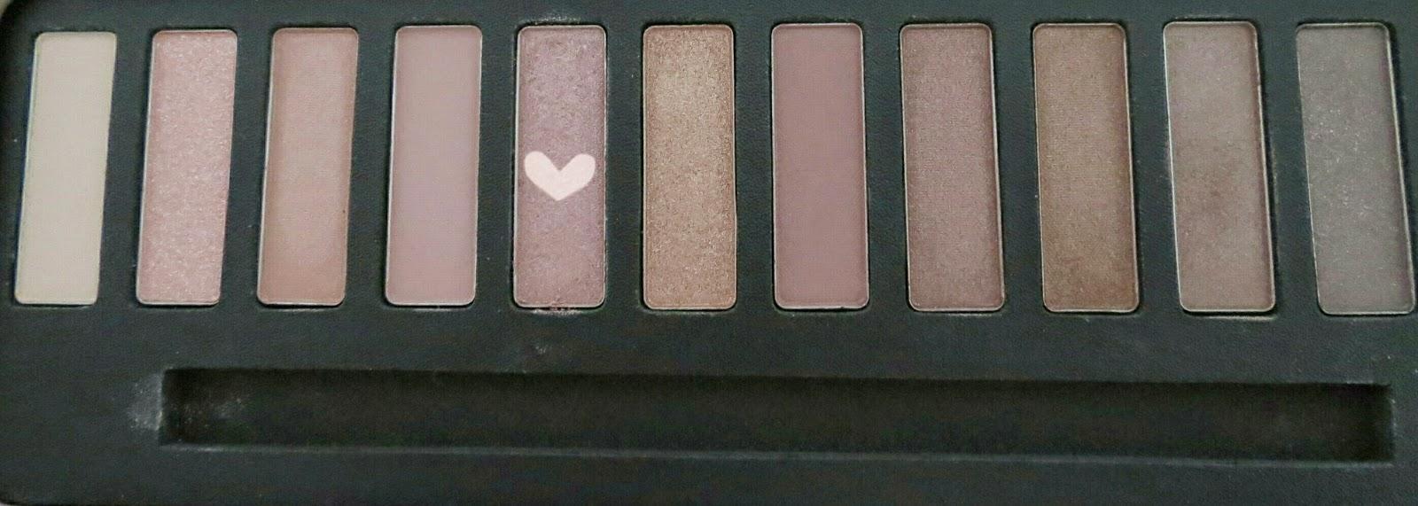Maquillage avec la palette W7