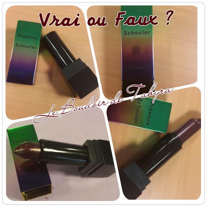 Le maquillage et la contrefaçon….