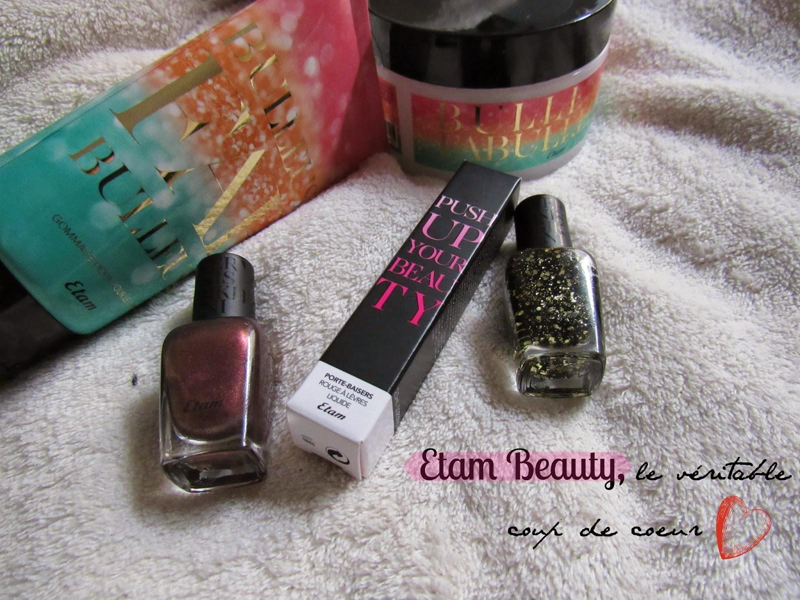 Push Your Beauty avec Etam !