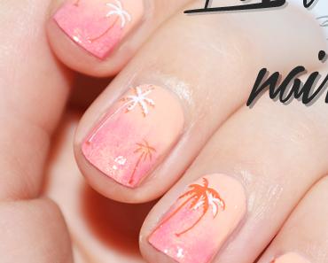 Le nail art des tropiques