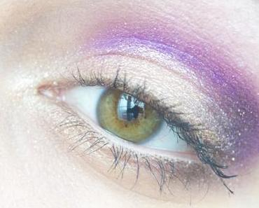 Purple gold – Maquillage de soirée