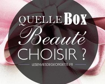Quelle Box Beauté choisir ?
