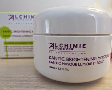 """Masque Lumière et Eclat """"Kantic"""" - Alchimie Forever : parfait pour les rougeurs et les irritations de mon visage"""