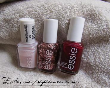Essie, ma préférence à moi ! (+ Concours #2 !)