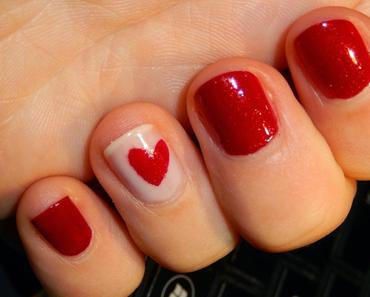Nail art de St Valentin ♥