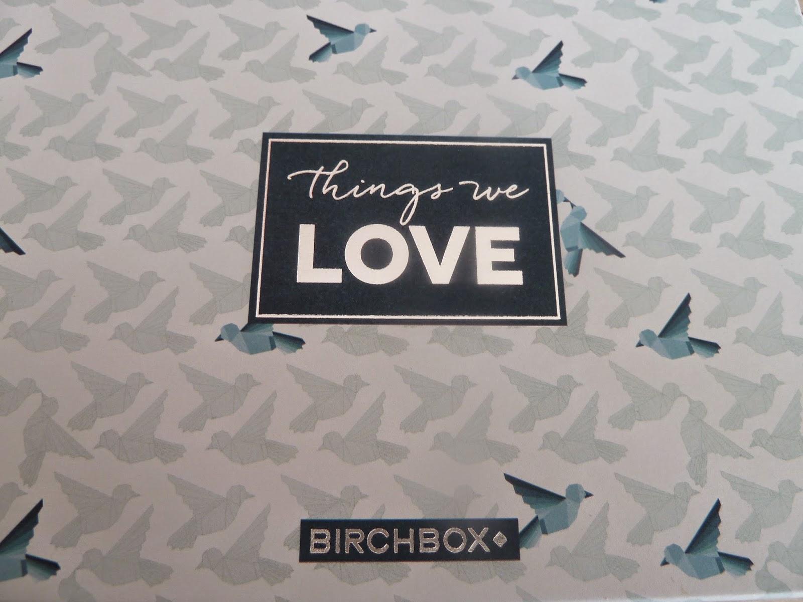 Birchbox de février