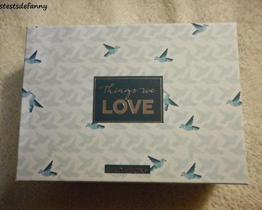"Unboxing Birchbox ""Things we love"""