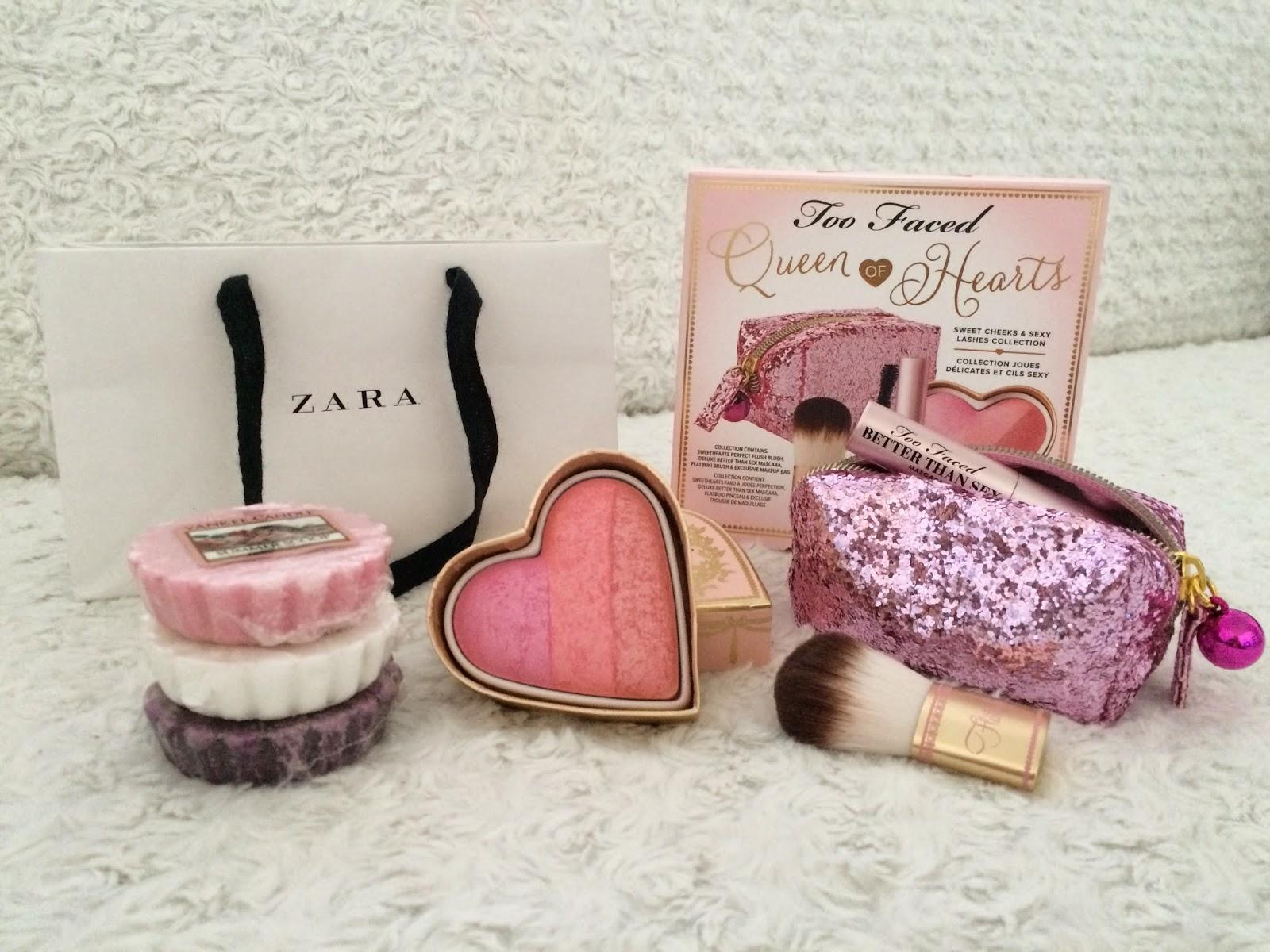 2 ans déjà ? ♡ Concours Zara, Too Faced & Yankee Candle