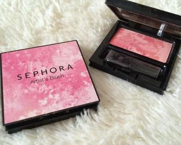 J'ai testé... Les Artist's blush Sephora