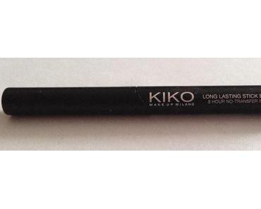 Long Lasting Stick Eyeshadow 05 Kiko vs Ombre crème longue tenue 03 Yves Rocher
