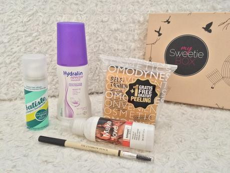 MY SWEETIE BOX - 5 shades of beauty (Février 2015)
