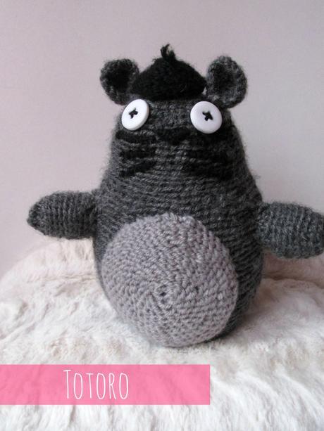 Amigurumis Totoro Patron : Diy amigurumi totoro et moomin deux mod�les test�s