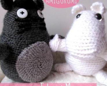 DIY Amigurumi Totoro et Moomin: deux modèles testés et approuvés!