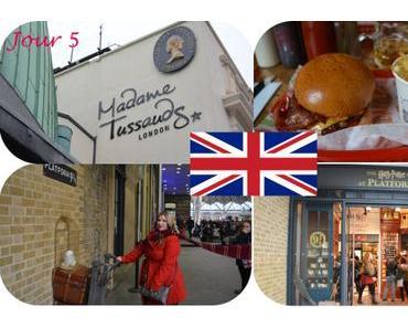 Vlog à Londres Jour 5 : Madame Tussauds, Kings Cross, Quai 9 3/4, shopping…