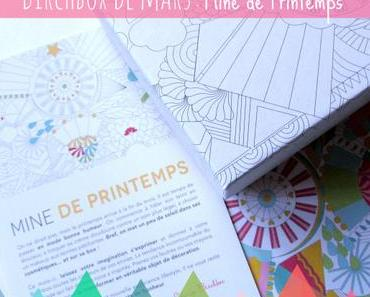 Birchbox de mars: mine de printemps!