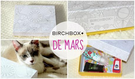 La Birchbox de mars - Color Your Box (spoilers)