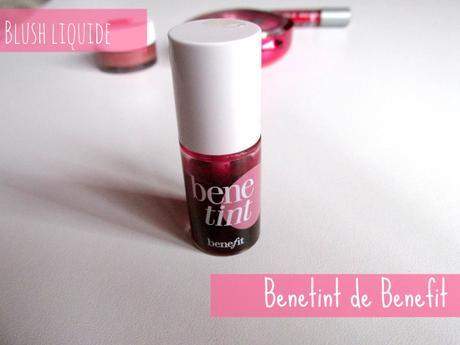 benetint de benefit blush liquide