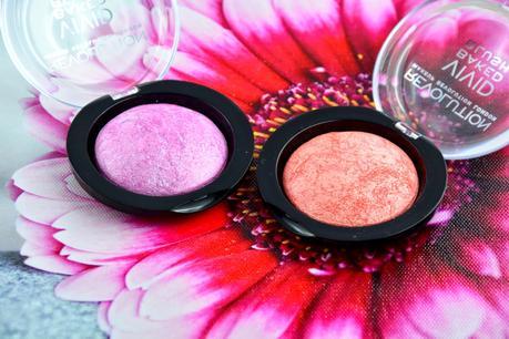 Vivid baked Blushes de Makeup Revolution