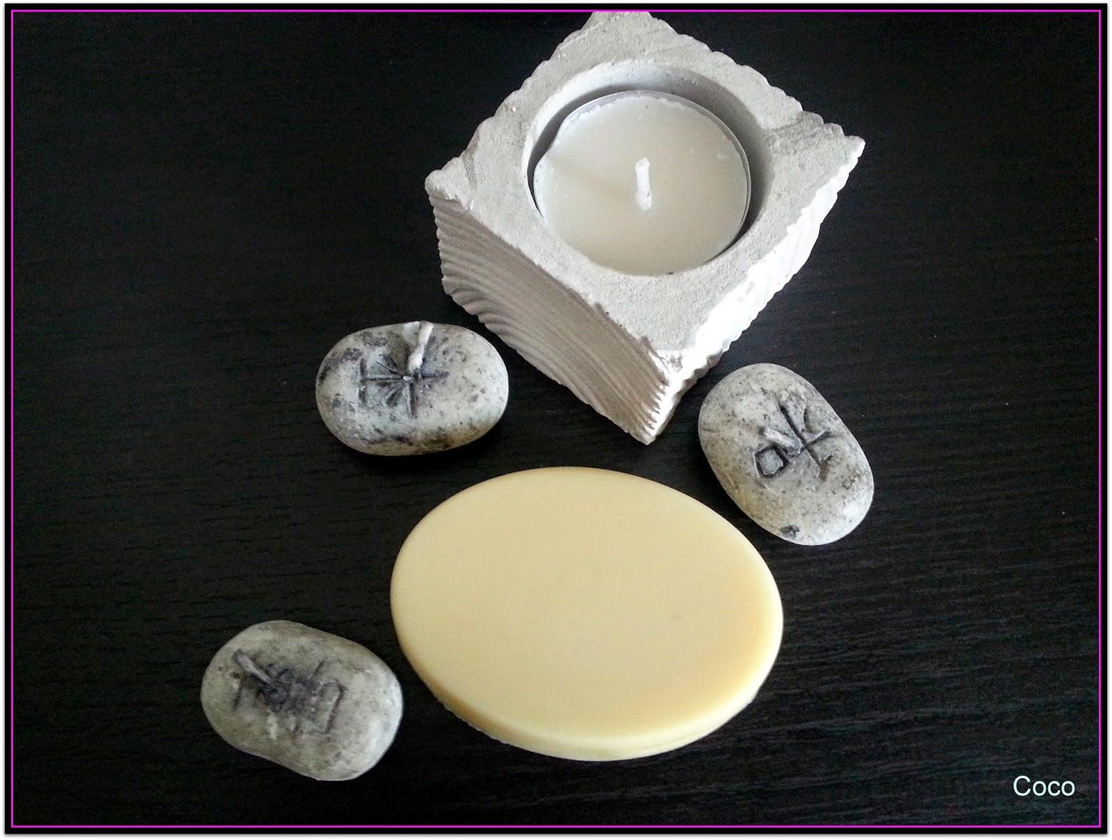 Barre de massage coco/ylang