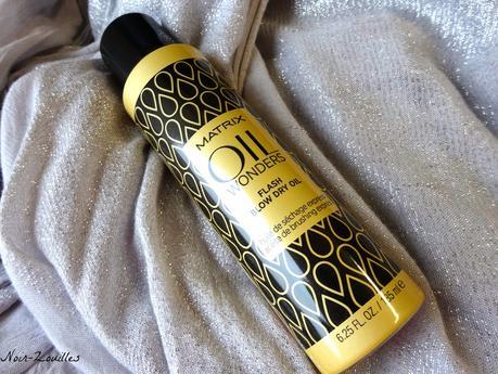 Huile de séchage cheveux Matrix